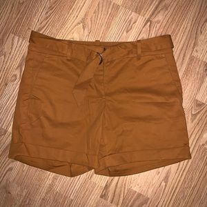 Burnt orange Ann Taylor shorts